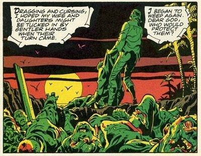 Una escena del comic original.