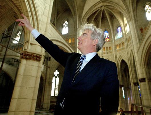 Ken Follett y su obsesión por las catedrales...