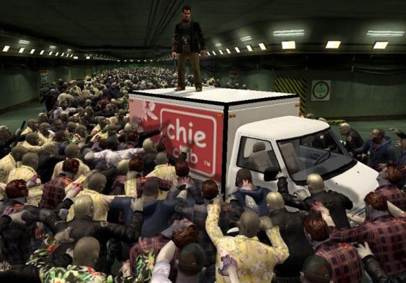 ¡Zombies de toda clase ávidos de carne humana!